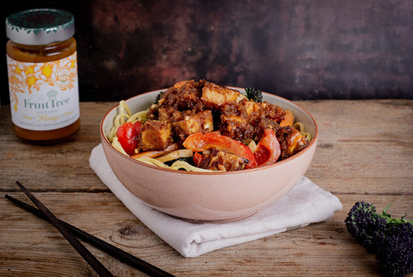 Mango Tofu Stir-fry